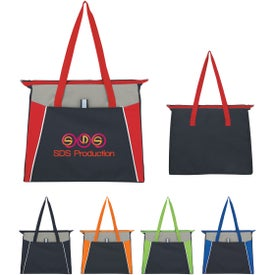 Empire Shopping Tote Bag with Your Slogan
