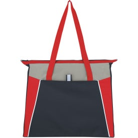 Empire Shopping Tote with Your Slogan