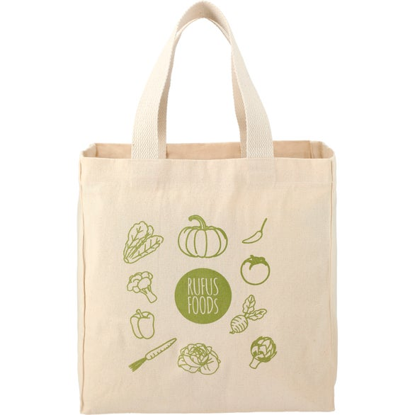Natural Essential 8oz Cotton Grocery Tote