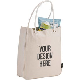 Organic Cotton Canvas Carry-All Tote Bag