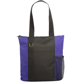 Essential Trade Show Tote Bag with Zipper Closures