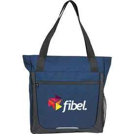 Essentials Large Zippered Tote Bag