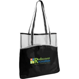 Everyday Mesh Top Tote Bag Imprinted with Your Logo