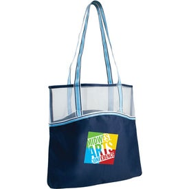 Everyday Mesh Top Tote Bag Printed with Your Logo