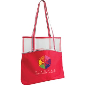 Personalized Everyday Mesh Top Tote Bag
