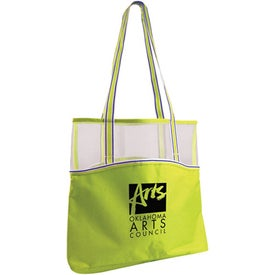 Everyday Mesh Top Tote with Your Logo