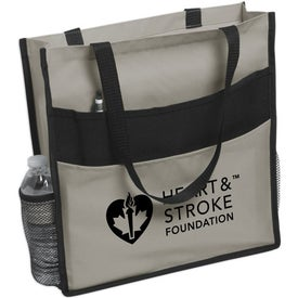 Promotional Expo Double Pocket Tote Bag