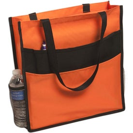 Expo Double Pocket Tote Bag for Customization