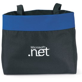 Branded Polyester Expo Tote Bag