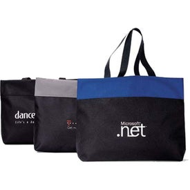 Polyester Expo Tote Bag Printed with Your Logo