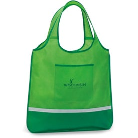 Expressions Foldaway Shopper Tote