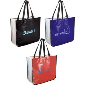 Extra Large Laminated Shopping Tote Bag