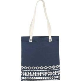 Fair Isle Cotton Tote Bag