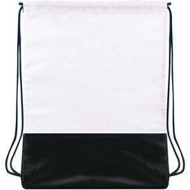 Fashion Drawstring Backpack Imprinted with Your Logo