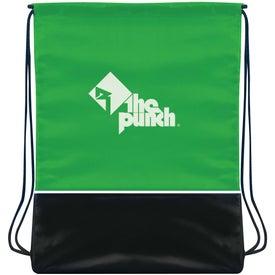 Logo Fashion Drawstring Backpack