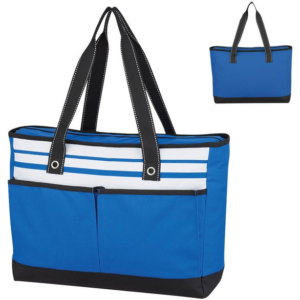 Royal Blue Fashionable Roomy Tote Bag