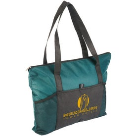 Feather Flight Large Tote Bag Imprinted with Your Logo