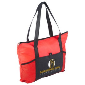 Branded Feather Flight Large Tote Bag