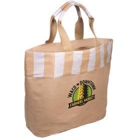 Monogrammed Festival Tote Bag