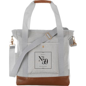 Field and Co. Cotton Canvas Commuter Tote Bag