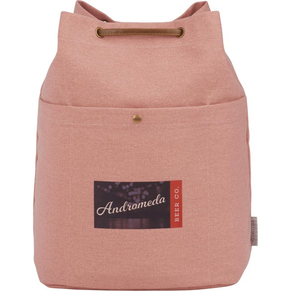 Gray Field and Co. Cotton Canvas Convertible Tote Bag