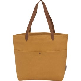 Field and Co. Cotton Canvas Book Tote Bags