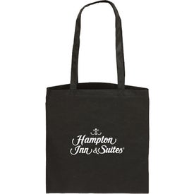 Flat Style Tote Bag Branded with Your Logo