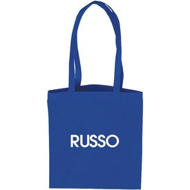 Flat Style Tote Bag with Your Slogan