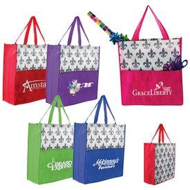 Custom Fleur De Lis Tote Bag