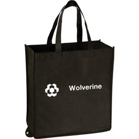 Fold Up Tote Bag Imprinted with Your Logo