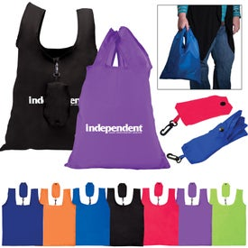 "Folding Grocery Tote Bag (13.625"" x 19"")"