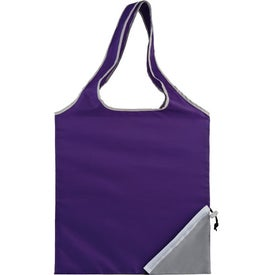 Logo Fold-Up Cinch Corner Tote