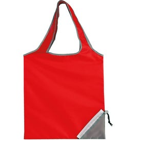 Fold-Up Cinch Corner Tote with Your Logo