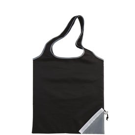Branded Fold-Up Cinch Corner Tote
