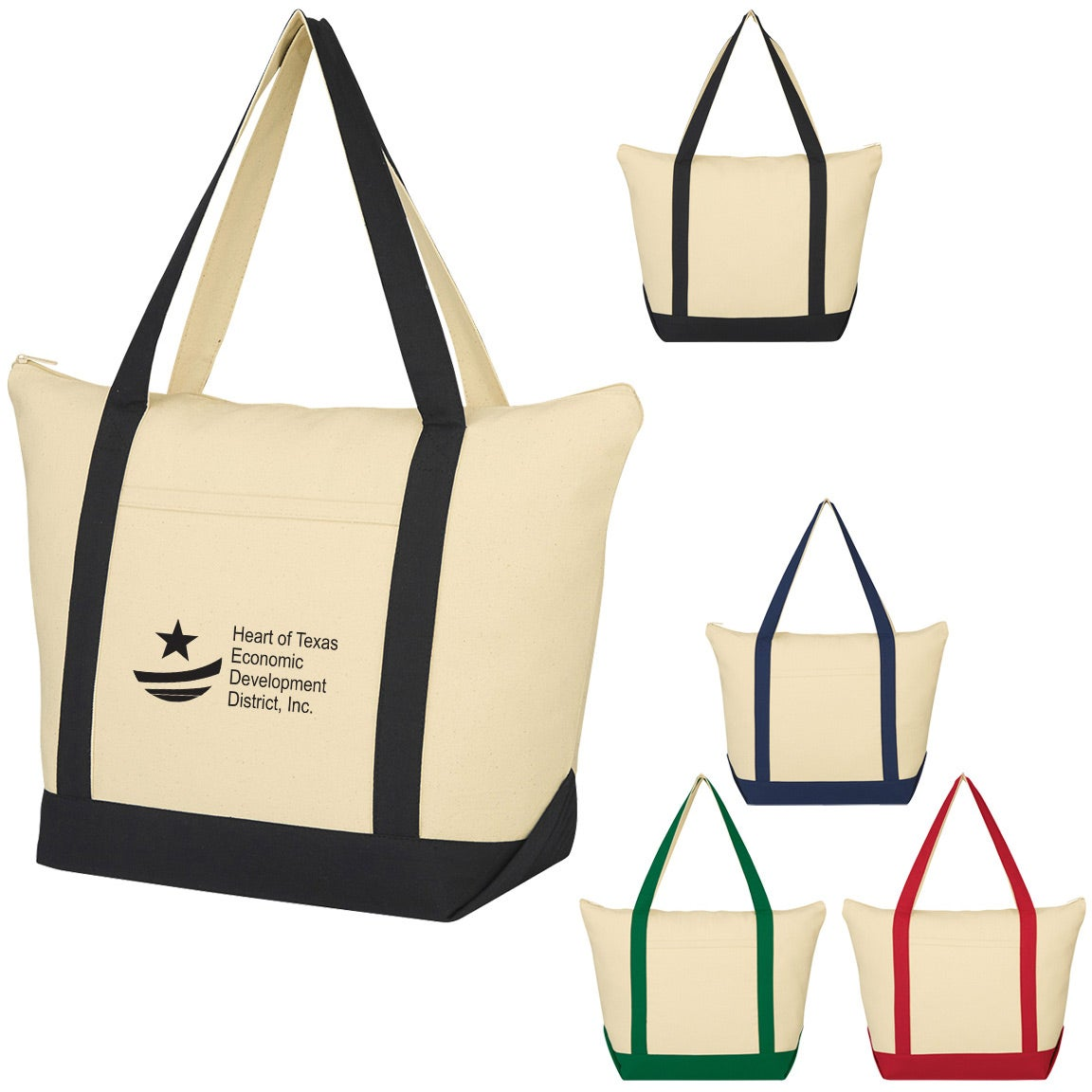 Promotional Folksy Cotton Tote Bags with Custom Logo for  8.39 Ea. ad2f3b9f3e52