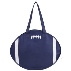 Football Tote Printed with Your Logo