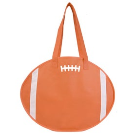 Football Tote Imprinted with Your Logo