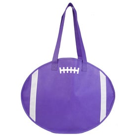 Logo Football Tote