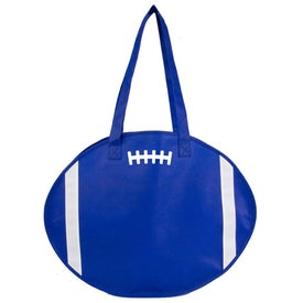 Branded Football Tote