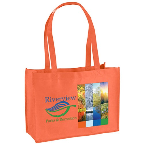 Orange Franklin Celebration Tote Bag