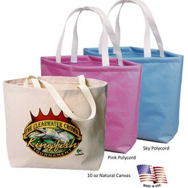 Galleria Tote Bag (10 Oz. Canvas)