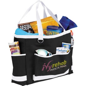 Game Day Carry All Tote Bag Imprinted with Your Logo