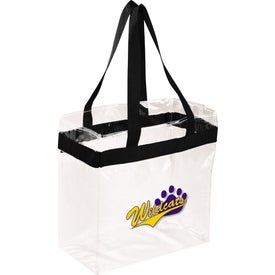 Company Game Day Clear Stadium Tote Bag