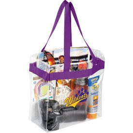 Branded Game Day Clear Stadium Tote Bag