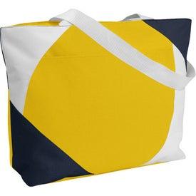 Geo Color Block Tote Bag for Marketing