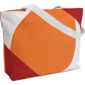 Geo Color Block Tote Bag for Your Church