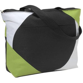 Geo Color Block Tote Bag for Customization