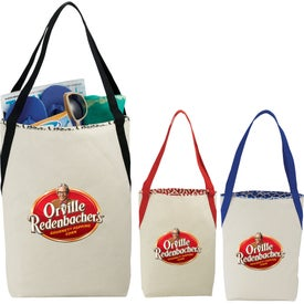Global Market Cotton Shopper Tote Bag