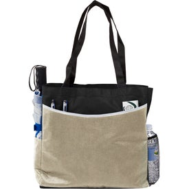 Globe Trotter Deluxe Convention Tote Bag for Promotion