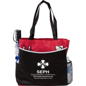Personalized Globe Trotter Deluxe Convention Tote Bag